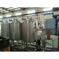 China PLC Control Cip Cleaning System 3000L  / Cip Tank In Water Treatment on sale
