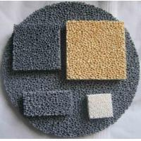 Cheap Reduce Production Cost Ceramic Foam Filter Improve Casting Mechanical Properties for sale