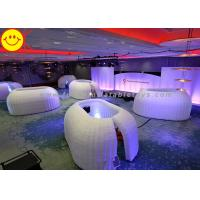 Cheap Customized Inflatable Structure Inflatable Office Pod Tent Mini Lighting For Decoration for sale