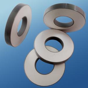 Cheap Ring Shape Piezoelectric Ceramic Element For Ultrasonic Sensor Custom Size for sale