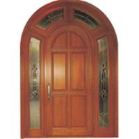 Big entrance solid wood door timber door of topmedecoration for Big entrance door