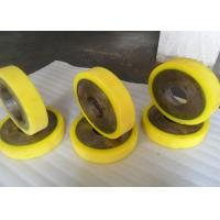 Cheap Oil Resistant Industrial PU Polyurethane Coating Rollers Wheels Replacement for sale