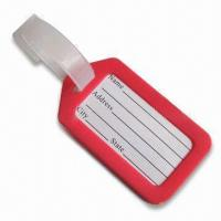 Cheap Luggage Tag, Available in Red, Suitable for Decoration Purposes for sale