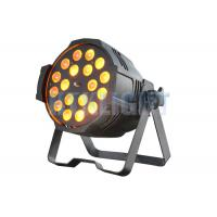 Cheap 18 Pcs 15W 5 - In - 1 LED Stage Spotlights /  LED Par Light 2 Years Warranty for sale