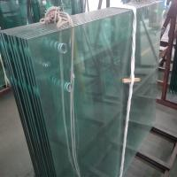 Quality China supplier 12mm clear monolithic tempered glass with ANSI Z97.1 for wholesale