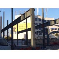 Cheap H Section Beams / Columns Industrial Steel Structures Pre Engineered 80 X 100 Clearspan wholesale