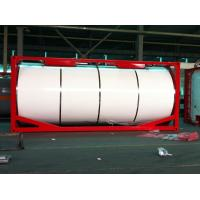 China Insulated Liquid Tank Container / Horizontal 20ft ISO Tank Container on sale