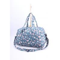 Cheap Bright light weigh beautiful flower printing cute luggage for girls for sale