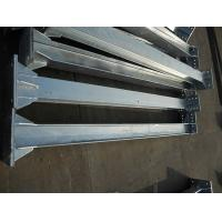 China Customized hot dip galvanized insulator support steel structure,substation steel structure, H steel support structure on sale