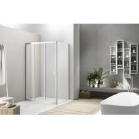 Cheap Linkage Sliding Shower Enclosure 5mm Tempered Glass Competitive Price for sale