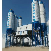 Cheap Double Concrete Batching And Mixing Plant , 4 Grids Bin Ready Mix Cement Plant for sale