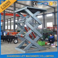 Cheap 2 Ton 3m Hydraulic Elevator Lift , Warehouse Lift Platform For Cargo Lifting for sale