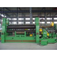 Cheap Bending Plates Plate Roll Machine For Cement / 21mm Thickness for sale