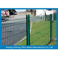 China 200*55mm Welded Wire Mesh Fence Galvanized Iron Wire For Sport Field on sale