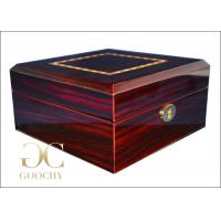 Cheap Lucky Wooden Watch Display Case for 6 Patek Philippe Watches Presentation Box for sale
