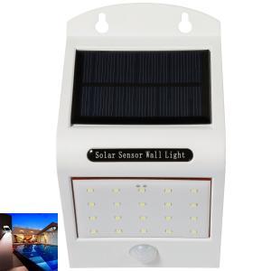 Cheap Super Bright Solar LED Security Light / 20 LED Flood Light With PIR Motion Sensor for sale