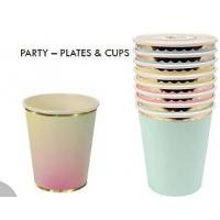 Cheap 9OZ Party Cups Unique Promotional Gifts With Different Shape / 4C Color Printing for sale