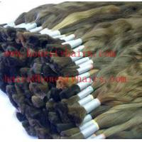 Cheap 100% Human hair bulk, remy extensions,color can be selected by your opinion for sale