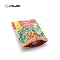 Cheap Stand Up Food Packaging Bags Reusable Laminated Plastic Zipper Lock Gravure Printing for sale