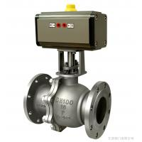 Cheap pneumatic actuator ball valve for sale