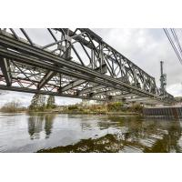 Pins Connect Assembling Steel Bridge Deck Anti Rust With Long Service Life