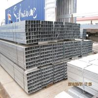Cheap HOLLOW PIPE PRE ZINC COATING GALVANIZED REC PIPE SUPPLIERS made in China market for sale