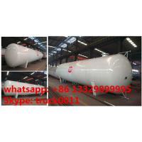 Cheap CLW brand 24 metric tons stationary surface lpg gas storage tank for sale, ASME standard 24ton surface propane gas tank wholesale