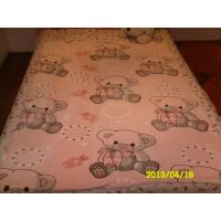 Cheap Car Airplane / Hotel 100% Polyester Baby Blanket 110X140CM , Cozy Baby Girl Blankets for sale