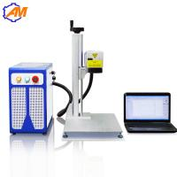 Cheap 20W fiber laser engraving marking machine for metal and plastic for sale