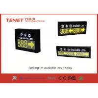Cheap Outdoor led display for parking guidance system for sale