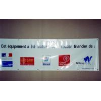 Cheap Custom size, material, color, quantity frontlit or backlit PVC flex vinyl banner printing for sale