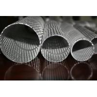Cheap 316L / 304 Stainless Steel Punching Pipes For Automobile / Motorcycle Silencers for sale