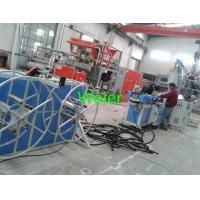 Cheap Single Screw PE Corrugated Pipe Production Line / Extrusion Machine 80kg/h for sale