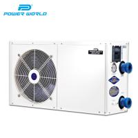 Buy cheap 3.9KW cheap custom portable wifi air source air water small swimming pool heater from wholesalers