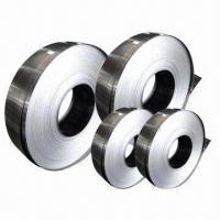 Cheap 300 Series Cold-rolled Stainless Steel Strips with 0.12 to 3.0mm Thicknesses wholesale