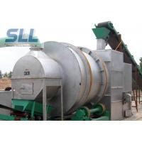 China Professional Rotary Drum Dryer Machine Silica Sand Dryer 10-40t/H Capacity on sale