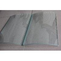 Cheap Screen Printing Curved Glass for sale