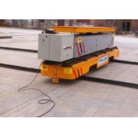 Cheap  Gearmotor Driven Hydraulic Lifting Transfer Cart With Dumping Platform for sale