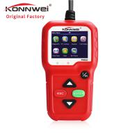 Cheap AD310 multi-funtional car engine tester konnwei car diagnostic scanner KW590 support read and print DTC data on PC for sale