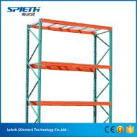 Cheap US heavy duty Warehouse storage teardrop pallet racking system for sale
