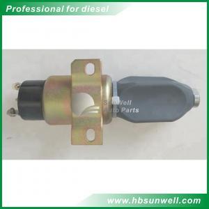China Original/Aftermarket High quality 6BT5.9 Diesel Engine Stop Solenoid Valve  Shut-Off Valve 3864274 on sale