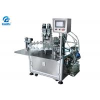 Cheap Rotary Vacuum Liquid Cosmetic Filling Machine For Nail Polish And Perfume for sale