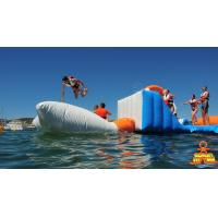 Quality Giant Adult Giant Blue inflatable sport park For Wake Island ,Water sports wholesale