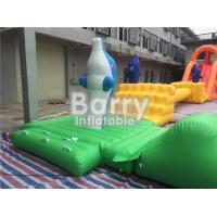 Giant 22 * 25m Adult Amazing Inflatable Water Park With Air Blower / Repair