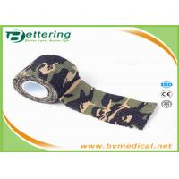 Cheap Military Tactical Flexible Cohesive Elastic Bandage Adhesive Tape Stretchable for sale