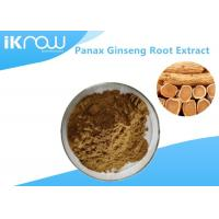 Cheap 20% UV Panax Ginseng Root Extract Powder , Pure Natural Ginseng Herbal Supplement for sale