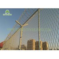 Electrical Sub - Station Galvanized Welded Mesh Panels With 2.03 × 2.5mm Site