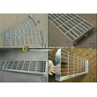 China Removable Galvanized Steel Stairs, Non Slip Stainless Steel Stair Treads on sale