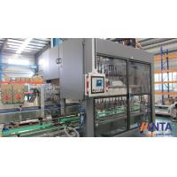 High Speed Pick And Place Machine Glass Bottle Crater With Air Inflation Gripper 20000 BPH