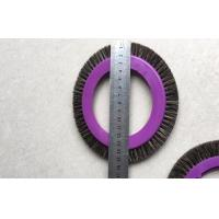 Buy cheap Textile Machinery Stenter Brushes Roll Cotton Spindle Nylon Bristle Aluminum Body from wholesalers
